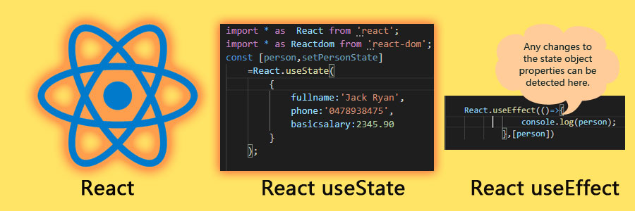 How to use react useState & useEffect