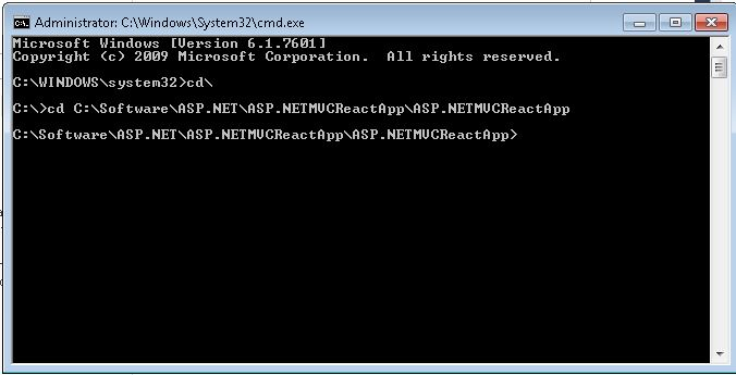 locating project path using windows command prompt