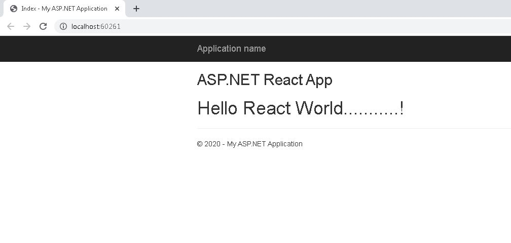 A simple ASP.NET app using react, typescript and webpack